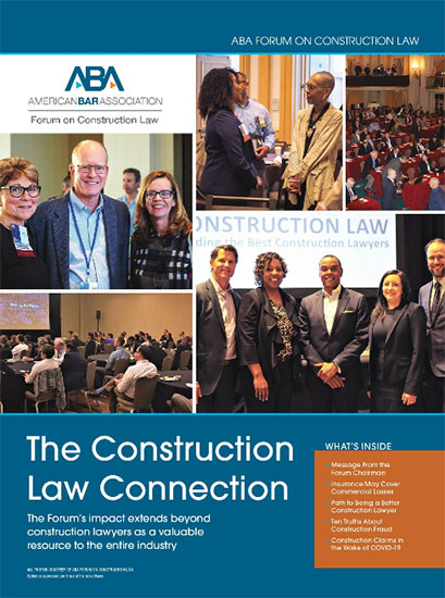 ENR Spotlight on ABA Forum on Construction Law