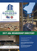 2017 Arizona Builders Alliance Membership Directory