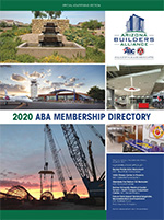 Arizona Builders Alliance 2020 Membership Directory
