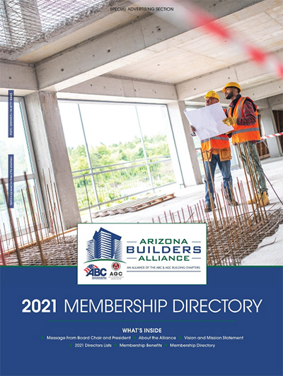 Arizona Builders Association (ABA) Membership Directory