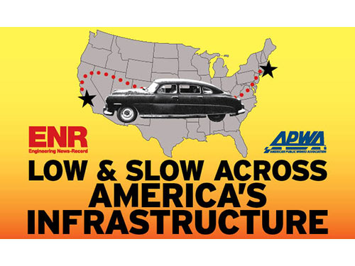 Low and Slow Across America's Infrastructure
