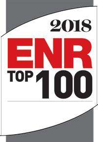 ENR Top 100 Design-Build Firms 2018