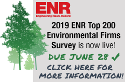 ENR's 2019 Top 200 Environmental Firms Survey
