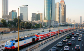 Israel's rail system power upgrade